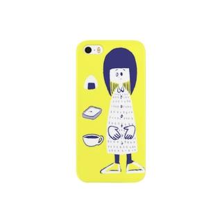 おんなのこロング Smartphone cases