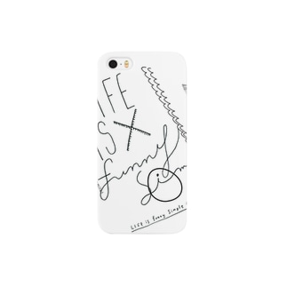 LIFE is Funny Simple Smartphone cases
