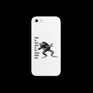 nanairo-factoryのかわず飛び込む Smartphone cases