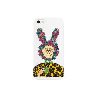 flower rabbit Smartphone cases