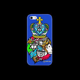 Art of God +のLionスマートフォンケース
