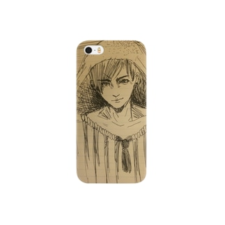 海月男 Smartphone cases