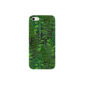 Forest Pattern #2B スマートフォンケース