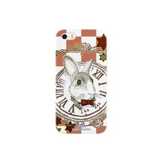 不思議の国のウサギ Smartphone cases