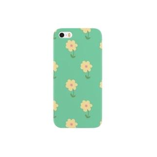 花柄 Smartphone cases
