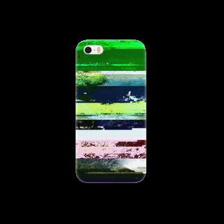 レオナのGlitch(Stream) Smartphone cases