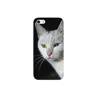 オッドアイ Smartphone cases