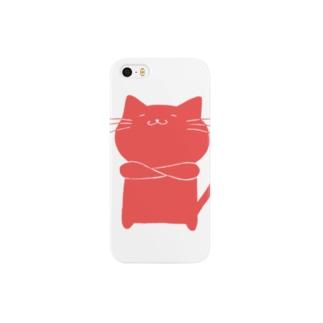 どや猫 Smartphone cases