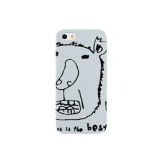 コアラのおっちゃん、ワームグレイです。 スマートフォンケース