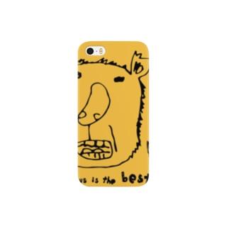 コアラのおっちゃん、ライオンオレンジです。 スマートフォンケース