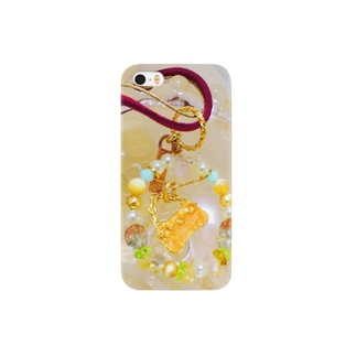 〇*haru*〇の*みじゅえりーちゃん*カラフルリングバッグ Smartphone cases