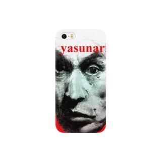 文豪yasunari スマートフォンケース
