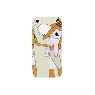 壁画に描かれたペニッサーファントム Smartphone cases