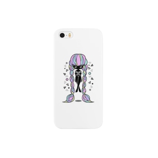 浮く子(カラー) Smartphone cases