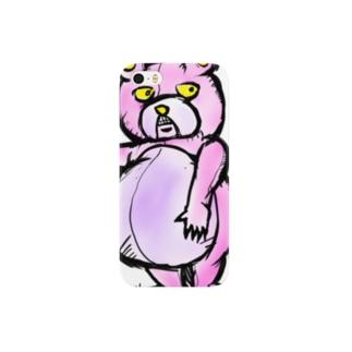 人食いグマ スマートフォンケース