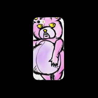 折羽ル子の人食いグマ スマートフォンケース