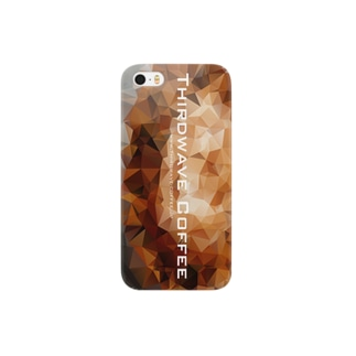 ポリゴンコーヒー1 Smartphone cases
