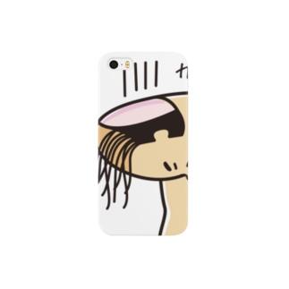 爆睡【おやじ指】 Smartphone cases
