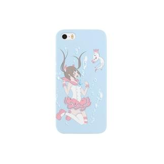 魔法少女と湖の天使 Smartphone cases