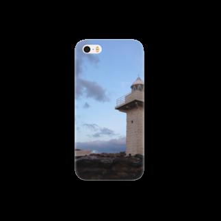 Pokkekkeの夜を背にした岬 Smartphone cases