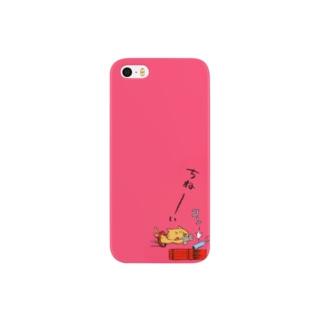 ねこガンマン(ねことねこ銃 2011Ver.) Smartphone cases