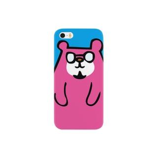 トミクマ 青×ピンク Smartphone cases