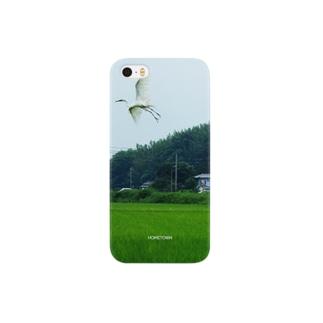 07/14 飛ぶ白鷺 HOMETOWN Smartphone cases