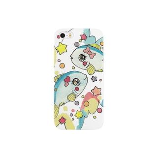 ファンシーおさかな Smartphone cases
