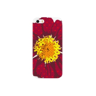 ハートのガーベラ Smartphone cases