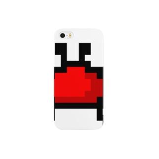 カニアイコン Smartphone cases