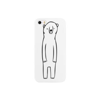 物憂げなしろくまの Smartphone cases