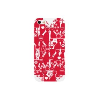 Cattower High [Red] Smartphone cases