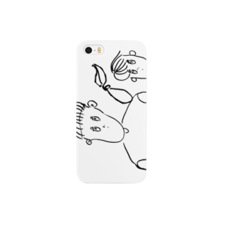 BURE-BUREのアイツの視線 Smartphone cases