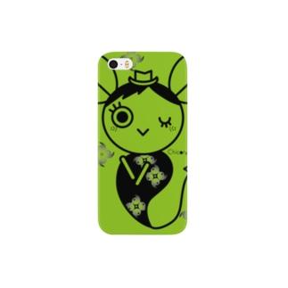 ハーブおばけ(チコリ) Smartphone cases