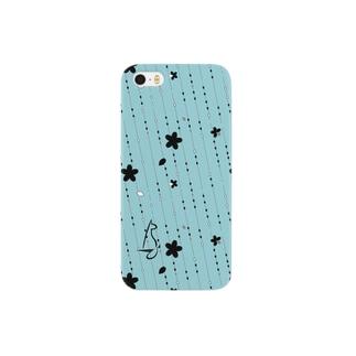 Sakura[LightBlue] Smartphone cases