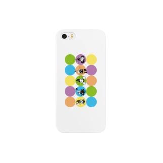 ハーブおばけ(オール) Smartphone cases