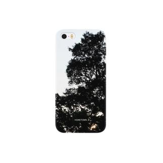 07/17 逆光の木 HOMETOWN Smartphone cases