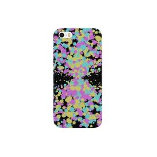Random Paint03(Black) Smartphone cases