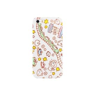 にゃんにゃん遊園地 Smartphone cases