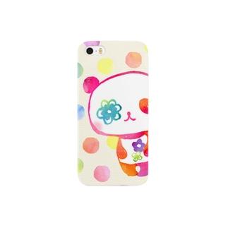 花パンダ Smartphone cases