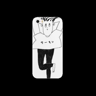 BURE-BUREのサーモン Smartphone cases