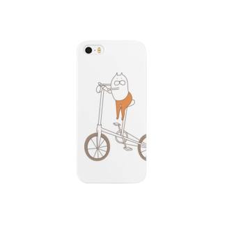 ねこタイツと自転車 Smartphone cases