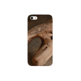 自然木アート Smartphone cases