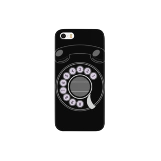 携帯黒電話 Smartphone cases