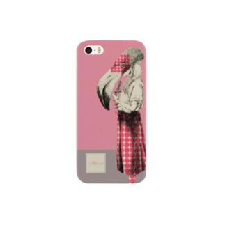 化けの皮ーフラミンゴー Smartphone cases
