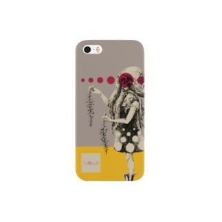 化けの皮ータコー Smartphone cases