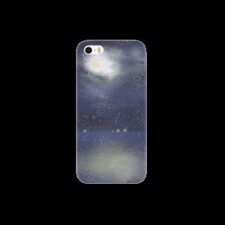 haruの月と漁火 Smartphone cases