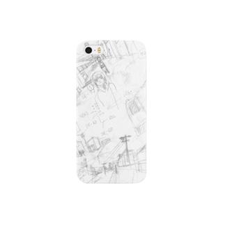 まんがを描こう Smartphone cases