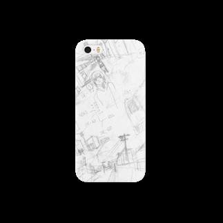 nakamura chingのまんがを描こう スマートフォンケース