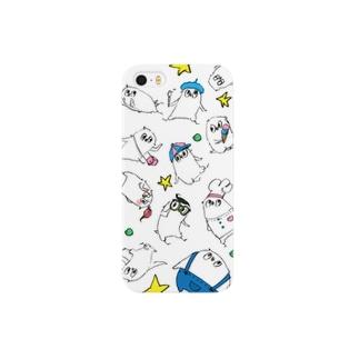 ことりーず ホワイト Smartphone cases